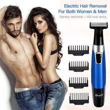 5 في 1 ماكينة إزالة الشعر الكهربائية الحلاقة USB قابلة للشحن لنزع الشعر للجنسين الأنف الحاجب الشعر المتقلب اللاسلكي لا ألم ماكينة حلاقة للشعر 31