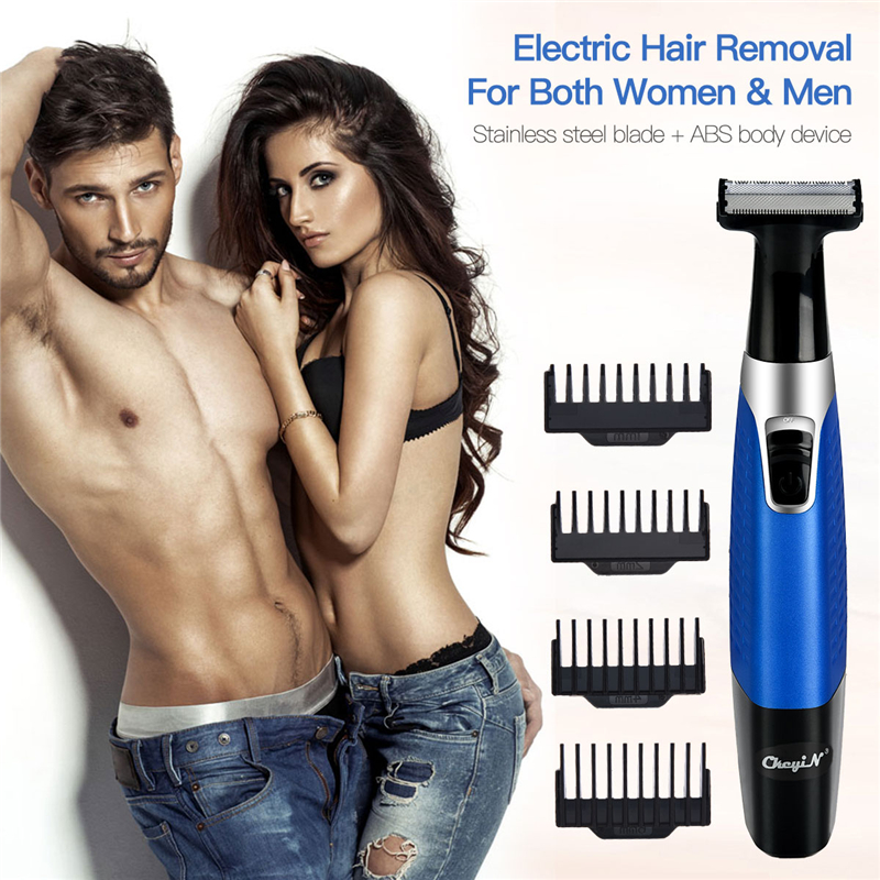5 in 1 Electric Hair Removal Razor USB Rechargeable Epilator Unisex Nose Eyebrow Hair Trimmer Cordless No Pain Hair Shaver 31Epilators   -