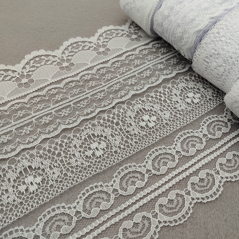 Brand New 10 Yards Beautiful White Lace, DIY Crafts/Wedding/Clothing/Lace Ribbon Gift Wrapping And Other Accessories