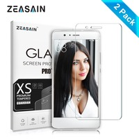 [2 Pack] Original ZEASAIN 2.5D 0.3mm HD Clear Tempered Glass Screen Protector For Huawei P9 lite G9 P9lite Protective Film