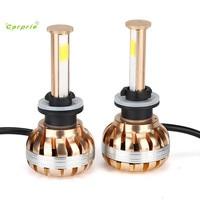 Auto Car Styling S5 880 881 80W 7200LM LED Headlight Kit 6000K White Car Bulb Lamp