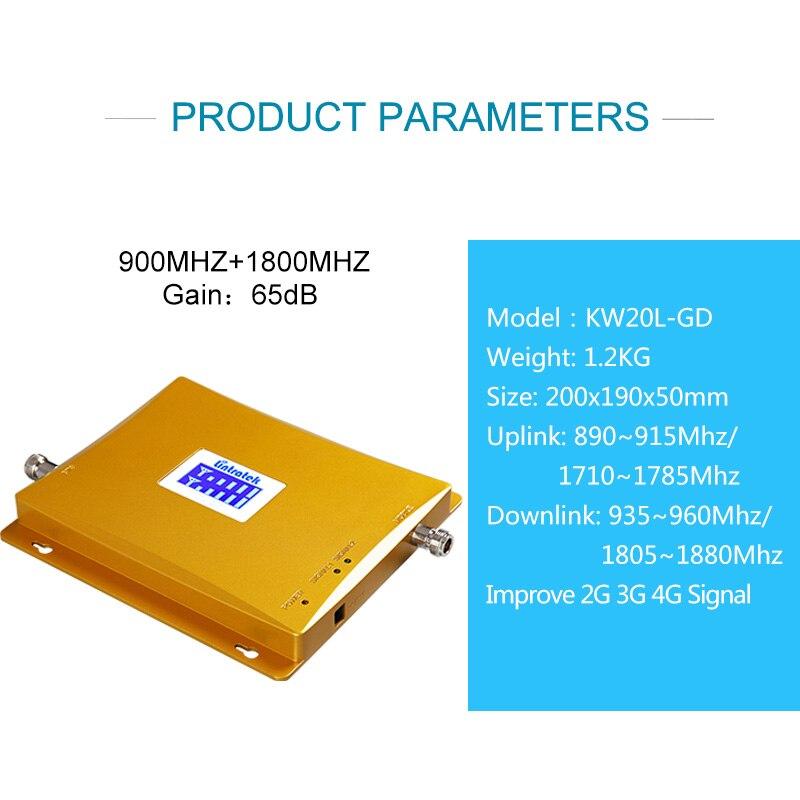 Lintratek GSM Signaal Booster 4G Repeater Dual Band GSM 900Mhz 4G 1800Mhz Ampli 2G 4G Mobiele Signaal Repeater Versterker 900 1800-in Signaal Helper van Mobiele telefoons & telecommunicatie op AliExpress - 11.11_Dubbel 11Vrijgezellendag 2