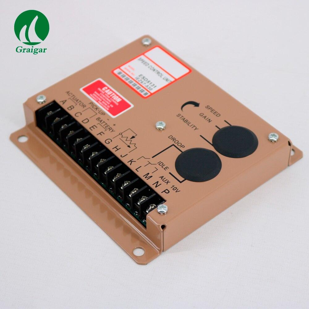 Diesel Generator Speed Controller Generators Electronic Speed Control Board ESD5131 Speed Control Unit цена