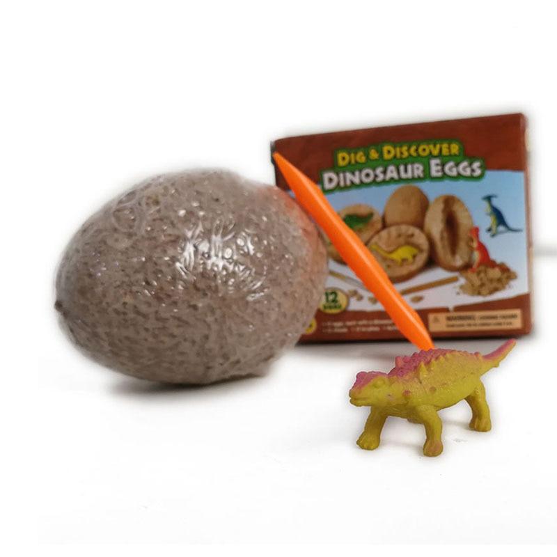 1pcs DIY Dinosaur Egg Baby Boys' Toys Novelty Digging Fossils Excavation Toys Kids Cognitive Learning Educational Funny Toys