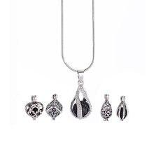 Диффузор медальоны ожерелья ювелирных изделий женские с ароматерапевтическим