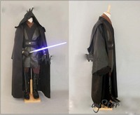 Free Shipping Star Wars Costume Jedi Knight Cosplay Costume Custom Made For Men party