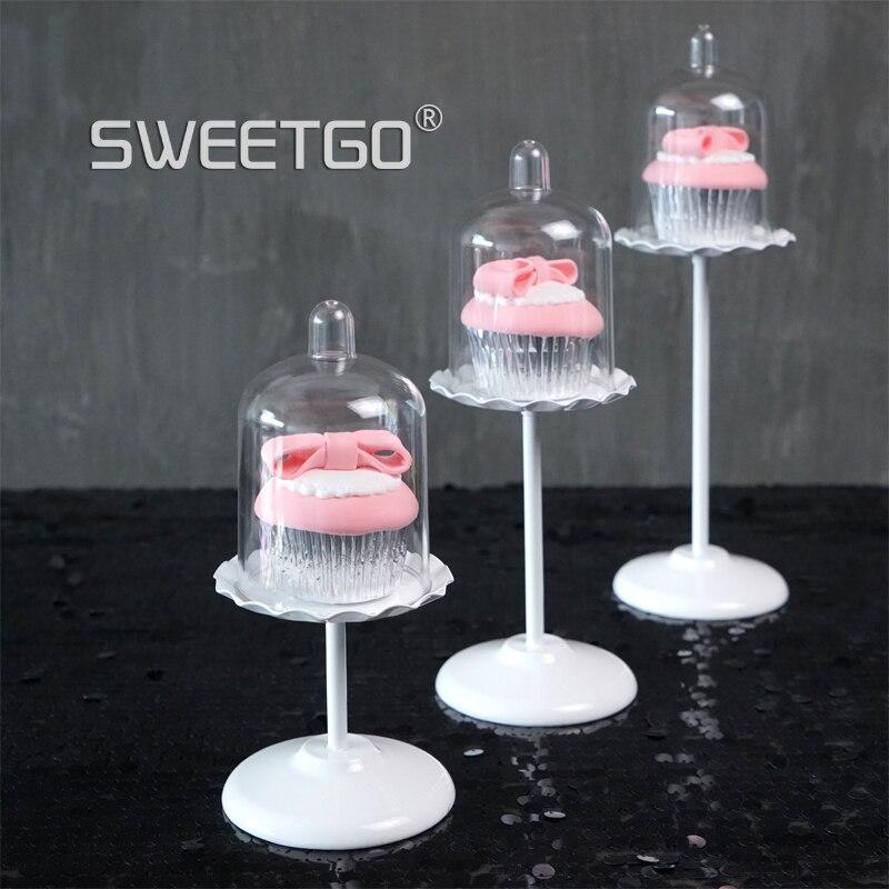 SWEETGO Esküvői csésze sütemény állvány fehér fém állni - Konyha, étkező és bár - Fénykép 2