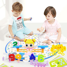 Educational Children's Gift Learn Balance Math Game Toys for Girls and Boys(China)