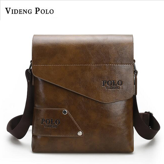 095d902431b 2017 New Arrival Famous Brand Men Messenger Bag HIgh Grade PU Leather Male  Crossbody Bags Business
