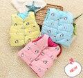 2014 Winter New Children's Hello Kitty Cotton-Padded Thick Vest(Wear Both Sides), Small Baby Kids Girls, Boys Winter Warm Vest
