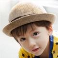 2016 летние дети мальчик девушка шляпу конопли дети повседневная hat перец купол бассейна шляпа керлинг шляпа солнца