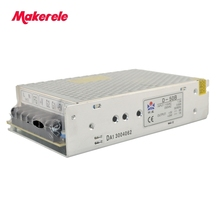 50w dual output type switching power supply D-50B 5V/6A 24V/1A 85-132VAC/170-264VAC input selected by switch