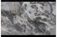 3D photo wallpaper custom 3d floor painting wallpaper Gray marbled bathroom 3 d sitting room floor tile living room wallpaper