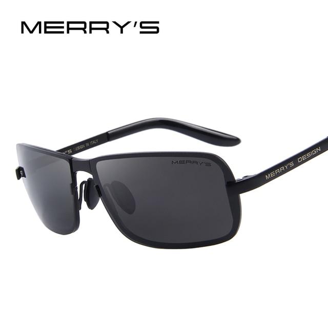 2c2db2e709 MERRY S Design Men Classic CR-39 Sunglasses HD Polarized Sun glasses Luxury  Shades UV400 S