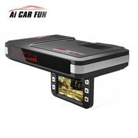 2 In 1 Car Motion Detector Universal Dash Cam Anti Radar Detector Car DVR Camera Flow