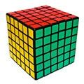 2016 Brand New Ultra-Suave Velocidade Enigma Torção Cubo Mágico 6*6*6 Brinquedos Coloridos & Hobbies educação Cubo IQ Cérebro Educação-50