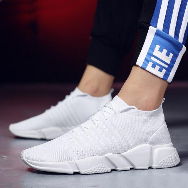 96f24e37e 2019 Venda Quente Quatro Estações Tênis Homens Sapatos Lace-up Athletic  Shoes Formadores Esportes Zapatillas
