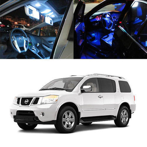 16Pcs 5050 SMD Full LED Interior Lights Package Deal For 2005-up Nissan Armada j deal 16