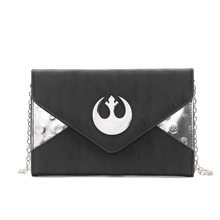 Star Wars PU Leather Handbag Shoulder Bag BLACK MESSENGER FLIGHT Casual Boys Girls Crossbody Bags Schoolbags HOLIDAY Bag Gift(China)