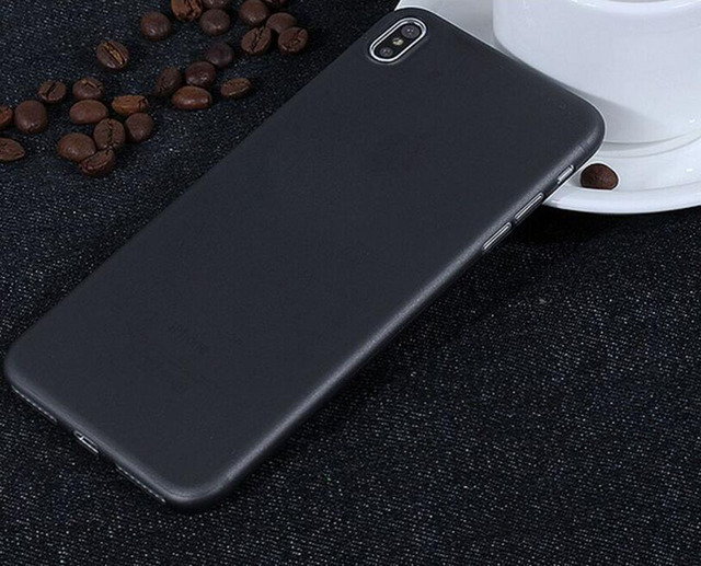 best service 4889f b9bf4 US $8.1 10% OFF|10Pcs/Pack For iphone X White + Black Translucent Ultra  Thin Matte Plastic Back Cover Case for iPhone X for iphoneX Fashion Case-in  ...