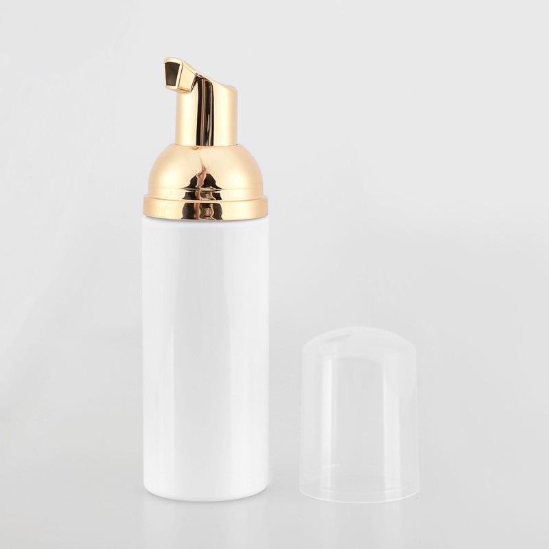 Wholesale fast 100ps 60ml Plastic Foamer Bottle Pump white liquid Soap Dispenser best cheapest Foam bottle