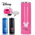 Disney 430 мл детские чашки с Микки Маусом изоляционная чашка из нержавеющей стали ультра легкий креативный простой мальчик термос для девочек ...