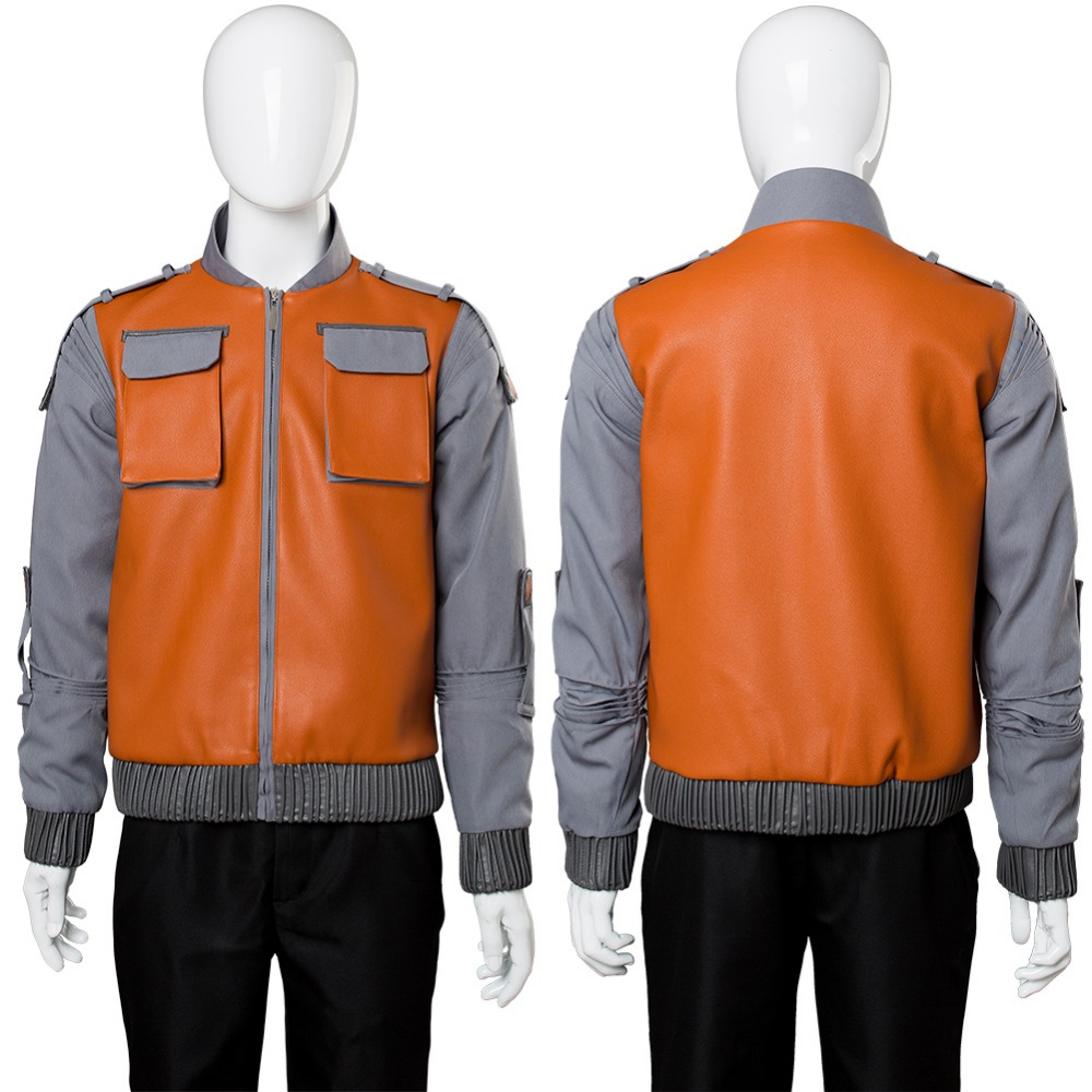 Back to the Future Marty McFly Jr.Jacket Cosplay Costume Full Sets