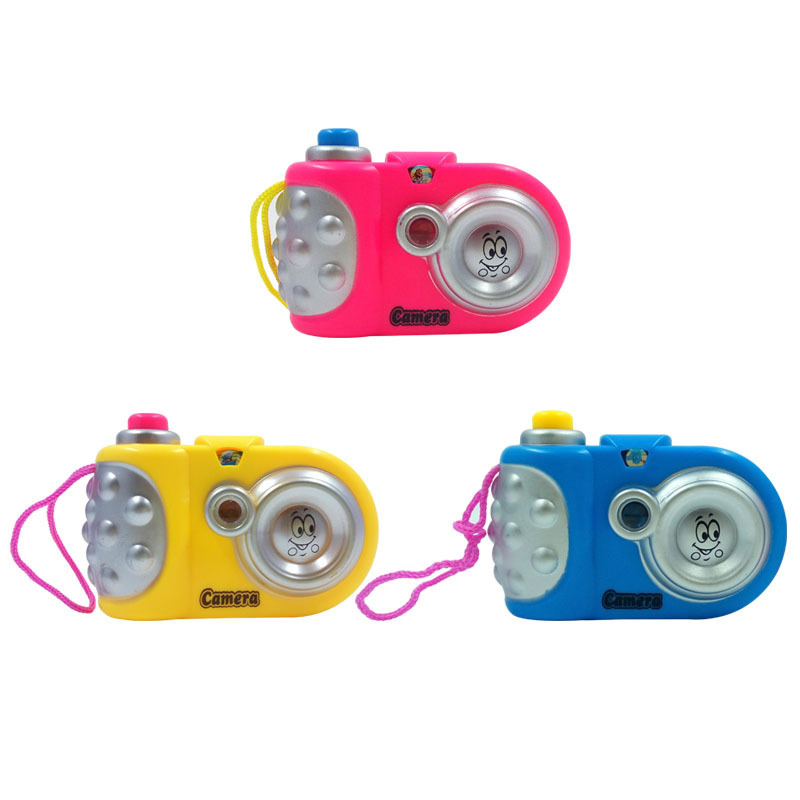 Children's Cartoon Projection Camera Simulation Camera Baby Educational Toys Mini Toy Small Camera
