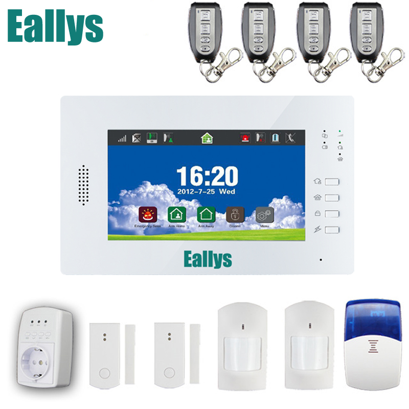 868mhz Double network alarm gsm&land-line home alarm system, telephone line backup alarm цена