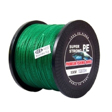 цена на Fishing Line 4 Strands 0.50mm  PE Multifilament Sea Super Braided Strong Fishing Line Carp Fishing Wire Main Line 500M