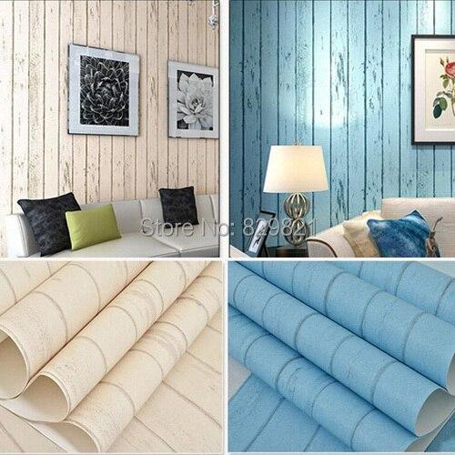 Schlafzimmer amerikanischer stil  Tapeten Streifen Holzplatte für Kinderzimmer Schlafzimmer ...