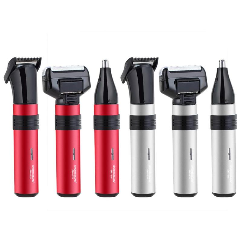 3 in 1 Electric Shaving Nose Hair Trimmer Safe Face Care Shaver Trimming For Nose Hair Eyebrow Trimer for Man and Woman philips multigroom series 7000 14 in 1 premium trimmer for face hair and body with dualcut technology showerproof mg7720 15