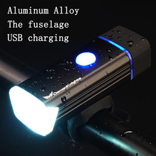 Bike Front Light  Waterproof Torch Headlight Bicycle USB Charging Flashlight Cycling