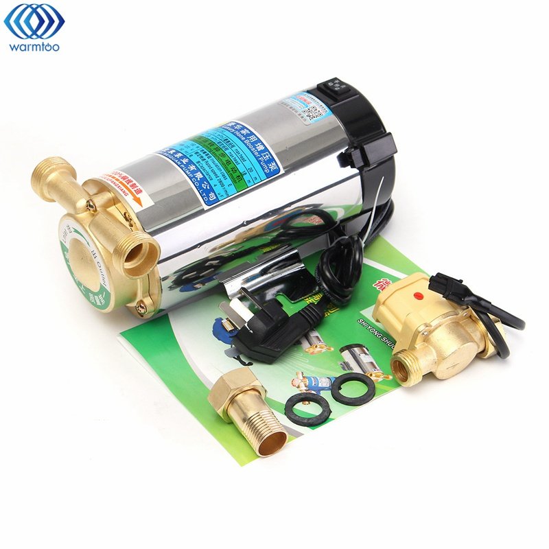 150W Water Heater Booster Pump Household Water Pipe Pressurizing Pump Heater Parts Element 220V yanmar parts the water pump thermostat type with reference 4tne88