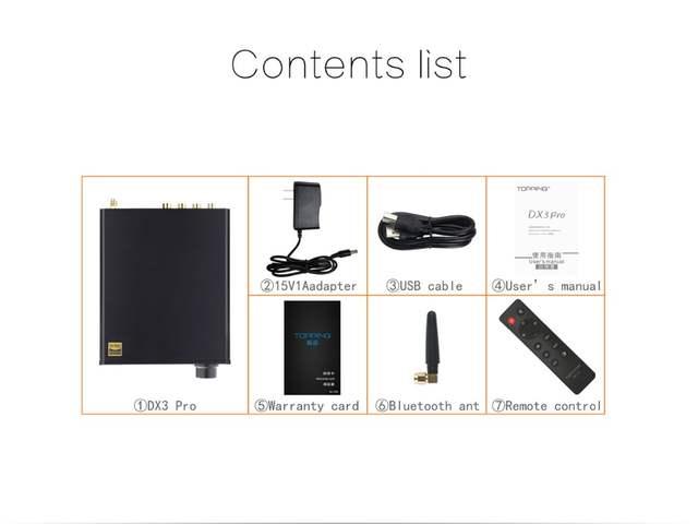 TOPPING DX3 PRO DX3PRO Desktop Bluetooth decoding amp AK4493 USB DAC XMOS  XU208 DSD512 hard solution Headphone output OPA1612