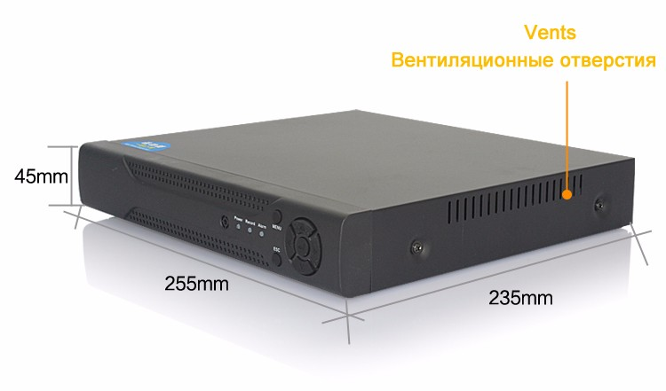 4 channel ahd dvr nvr porduct show 02