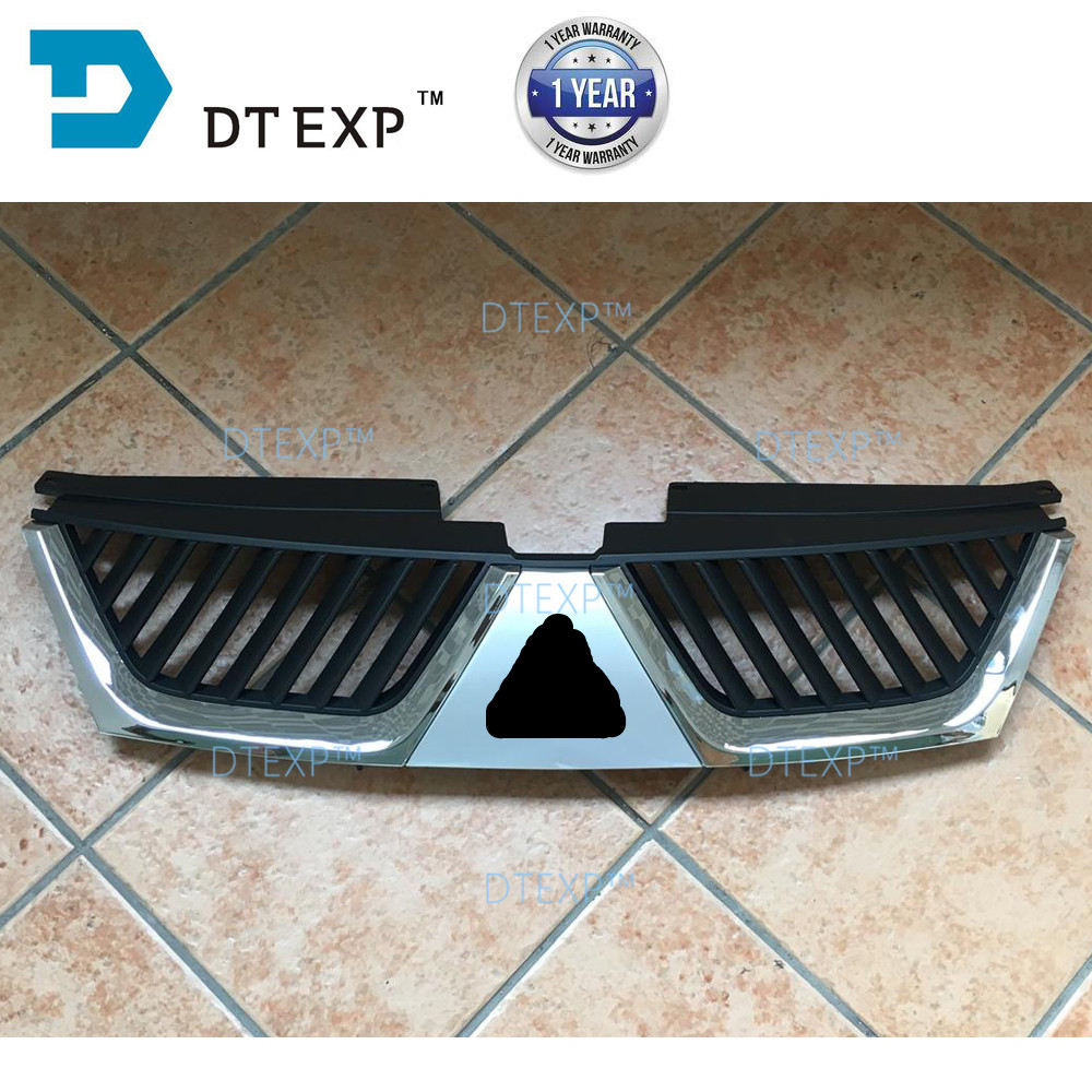 2007-2012 outlander chrome grille airtrek front bumper bumper lip all other parts available abs chrome front grille around trim for ford s max smax 2007 2010 2011 2012