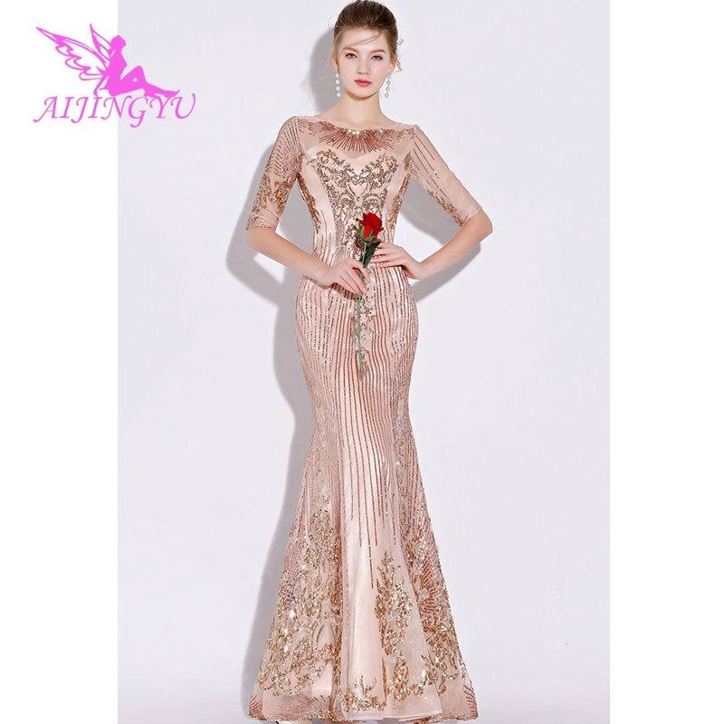 AIJINGYU вечернее платье, вечернее платье 2018, элегантное, сексуальное, официальное, для особых случаев, платья для женщин, модные Бальные платья FS114 Вечерние платья      АлиЭкспресс