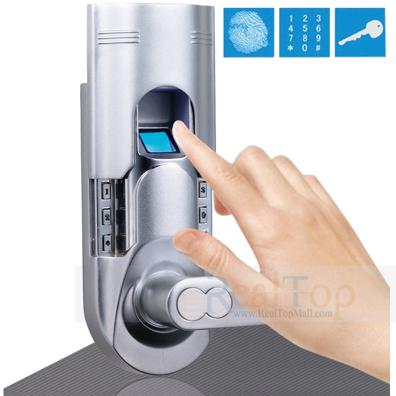 Fingerprint Keypad Keyless Entry Locks Security Biometric Door Lock For Home  and Offices DIY Installation-in Fingerprint Recognition Device from  Security ...