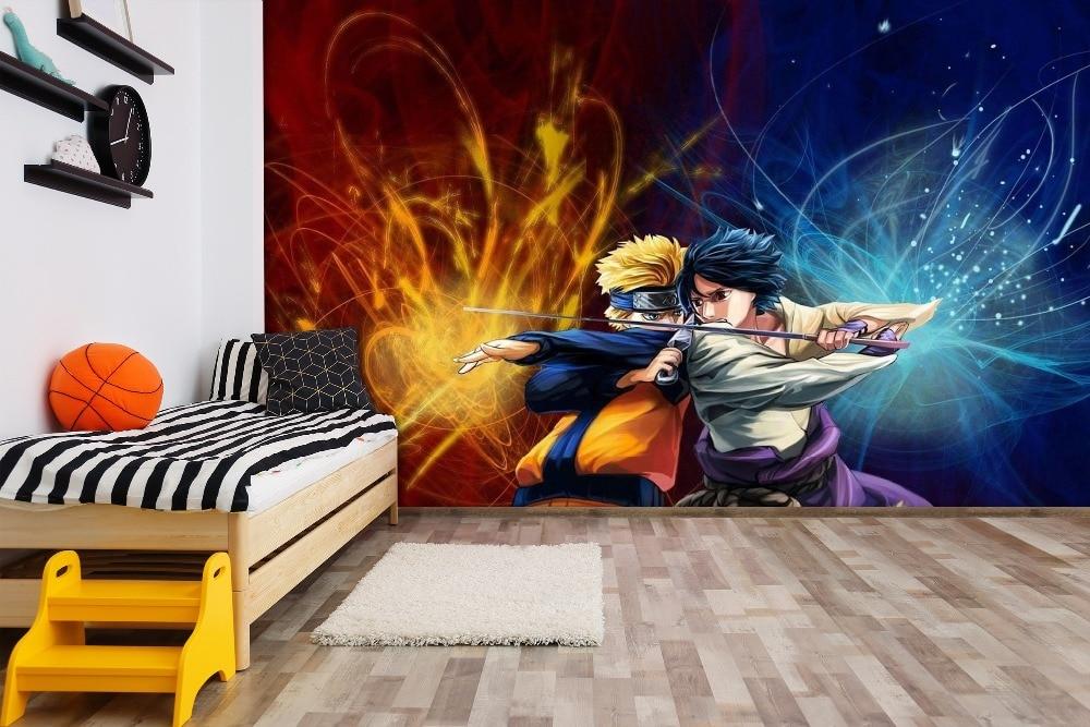 [Self-Adhesive] 3D  Naruto Classic  66  Japan Anime Wall Paper Mural Wall Print Decal Wall Murals