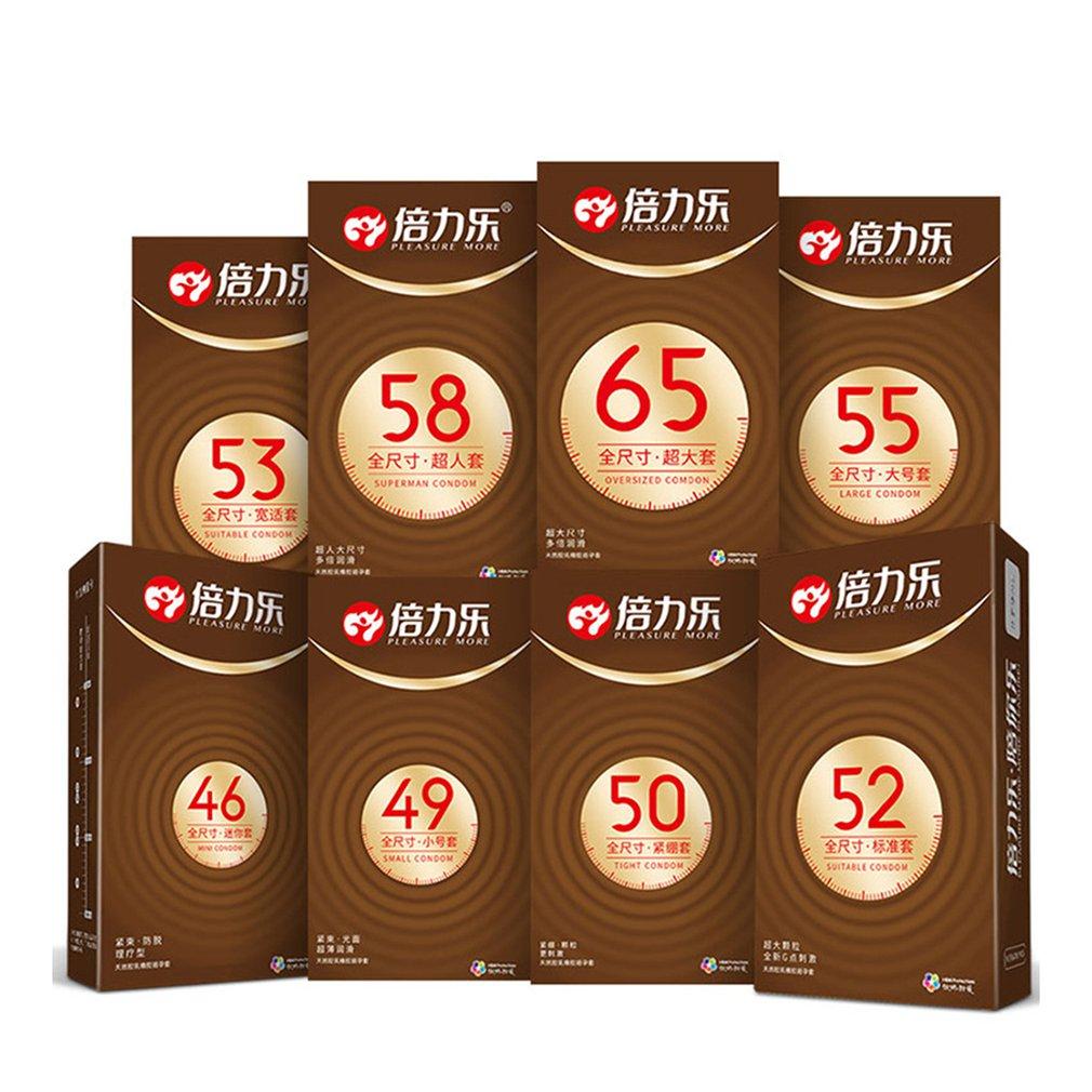 46/ 55 /58 мм Ультра тонкие большие презервативы большого размера для большого члена полноразмерные презервативы рукав для пениса Безопасный и...