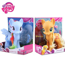 22cm My Little Pony Speelgoed Zeldzaamheid Apple Jack Rainbow Dash Prinses Celestia Action Figure Collection Model Pop Voor Kinderen geschenken(China)