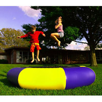 LBLA PVC Inflatable Water Trampoline Outdoor 0.6mm Trampoline for Inflatable Bouncer Water Park 10ft Diameter