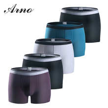 ARNO cotton underwear mens Boxer Panties 5pcs