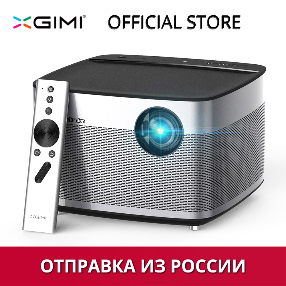 Xgimi H1 DLP проектор 1080p Full HD 3D 4К 3 ГБ/16 ГБ Android Bluetooth, Wi-Fi AirPlay proyector проектор для домашнего кинотеатра отправка из России