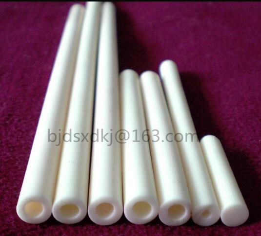 99.5% alumina tube / furnace tube / OD*ID*L=10*7.4*370mm / ceramic tube / vacuum furnace tube99.5% alumina tube / furnace tube / OD*ID*L=10*7.4*370mm / ceramic tube / vacuum furnace tube