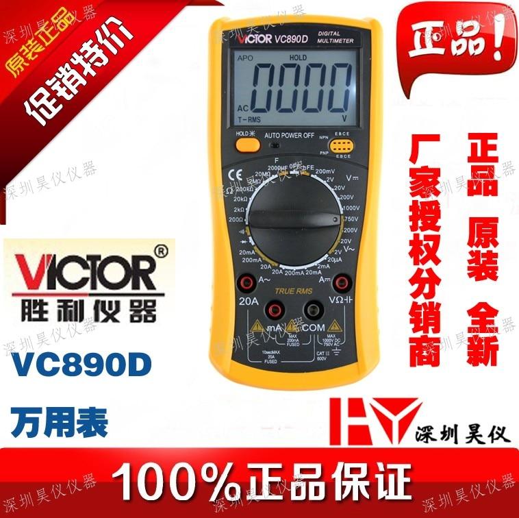 VICTOR VC890D Digital Multimeter True RMS multimeter capacitor 2000uF Backlight Tools New подвесная люстра lightstar cigno collo 751242