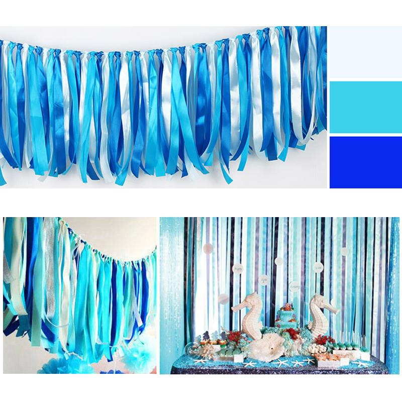 Aliexpress.com : Buy 50pcs/lot Charming Hanging Ribbon Curtains DIY Tassels  Garland Background Birthday Anniversary Supplies Wd320 From Reliable Curtain  ...