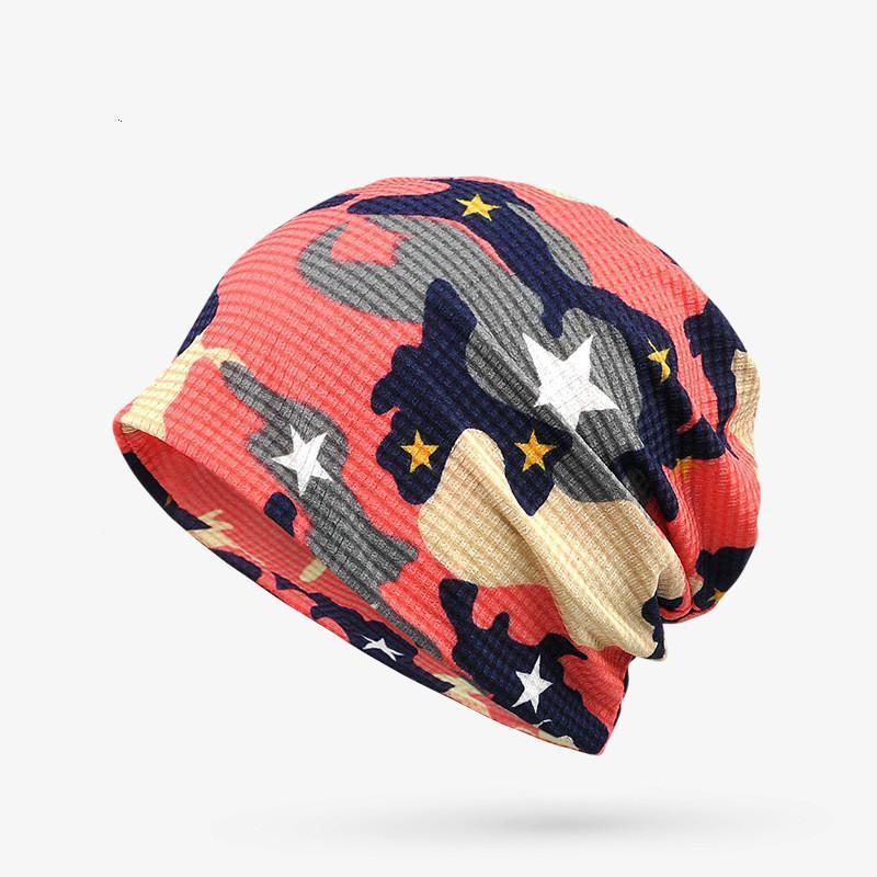 73148ba5c3b COKK Summer Hat Slouchy Baggy Beanie Hats For Men Women Skullies Beanies  Sport Caps Collar Scarf Turban Hat Female Bone Male-in Skullies   Beanies  from ...