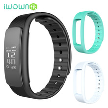 iWOWNfit i6 HR  IP67 Waterproof Heart Rate Monitor Pedometer Fitness Tracker Activity Smart Wristband